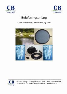 Beluftningsanlæg - CB Vand & Miljø