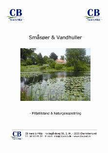 Småsøer & Vandhuller - CB Vand & Miljø
